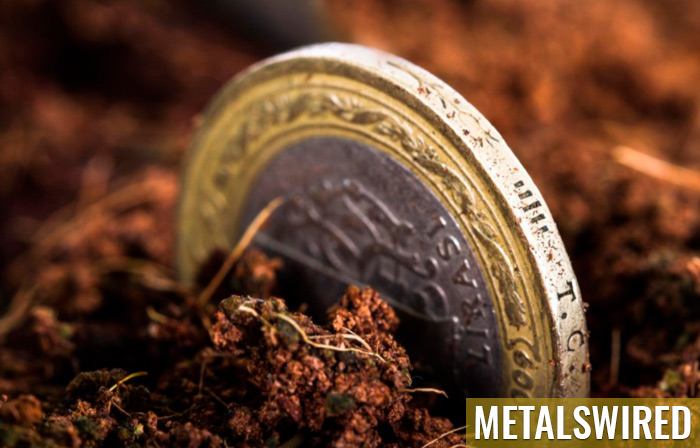 coins discovered in dirt
