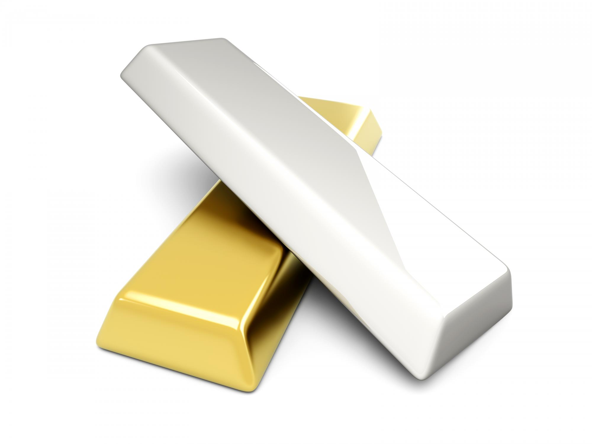 Gold and Silver Ingots